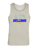 Butler Wrestling Silver Training Tank  w/ Large Front 3 Color Design