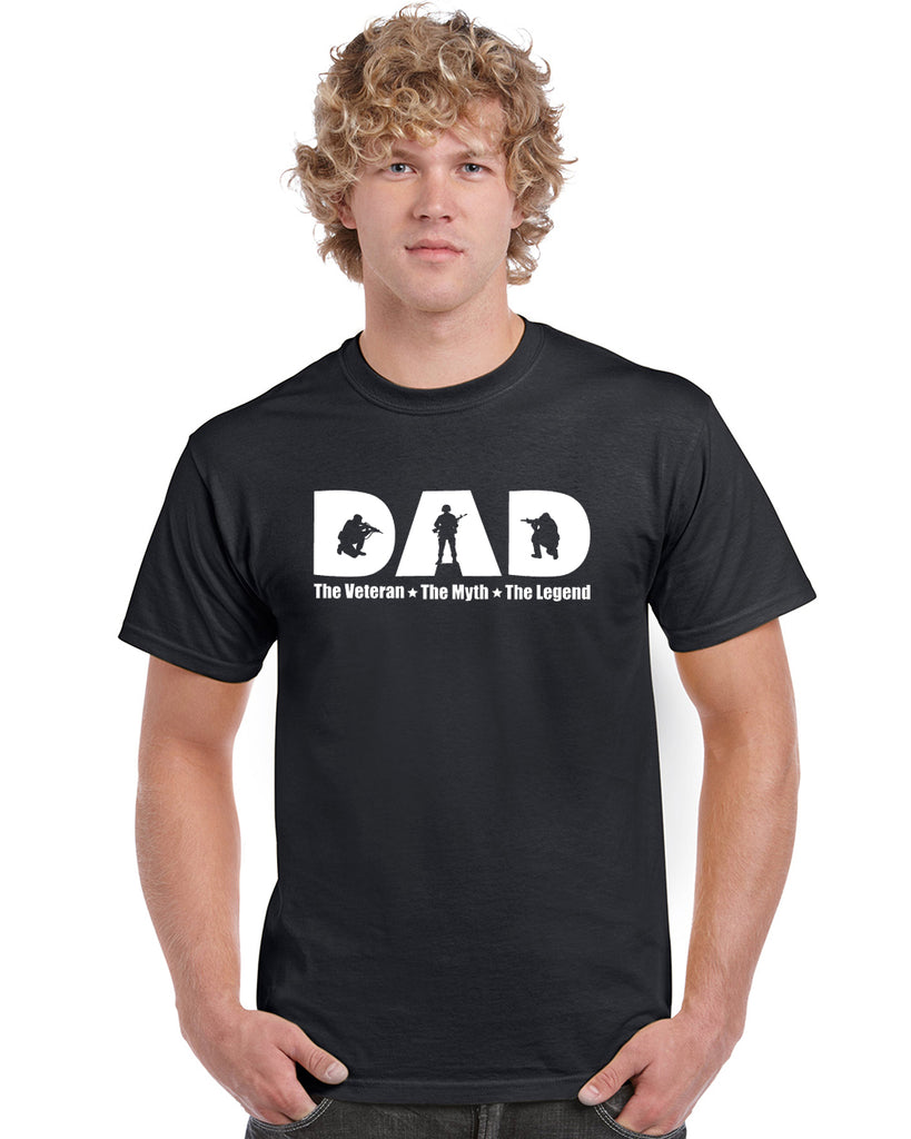 Veteran Dad V1 Graphic Transfer Design