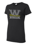 WANAQUE  Black Heavy Cotton Shirt w/ WANAQUE School
