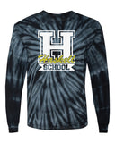HASKELL School Cyclone Tye Dye Long Sleeve Tee w/ HASKELL School