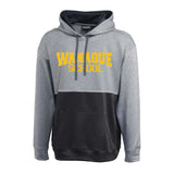 WANAQUE Horizon 2-Tone Hoodie w/ WANAUQE School Text Logo on Front.