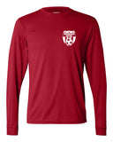 Wanaque Soccer Performance Long Sleeve T-Shirt with Small Left Chest Logo