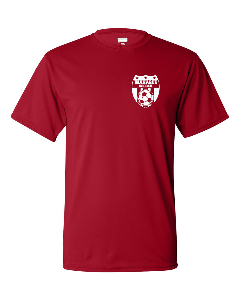 Wanaque Soccer Performance T-Shirt with Small Left Chest Logo