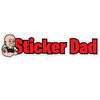 Sticker Dad Slap V1 Full Color Printed Vinyl Decal Window Sticker