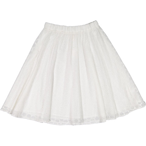 Ava & Lu The Cloud Eyelet Skirt