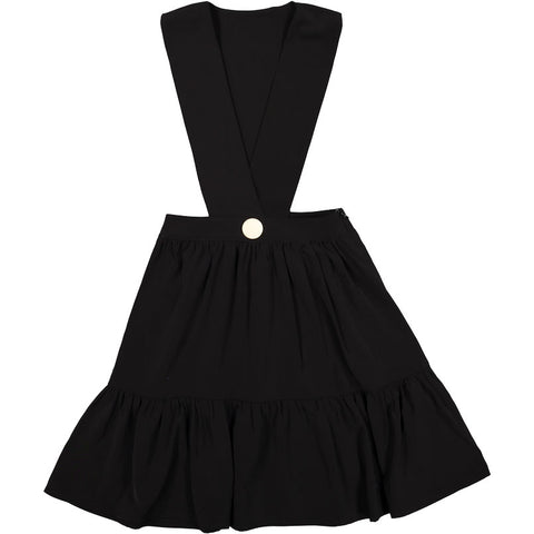Ava & Lu Black  Pinafore