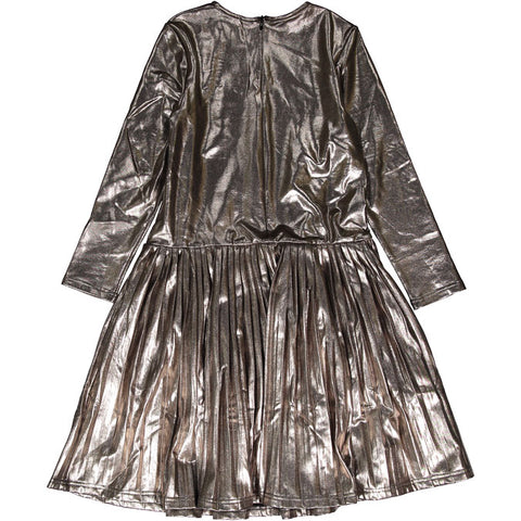 Ava & Lu Copper Pleat Dress