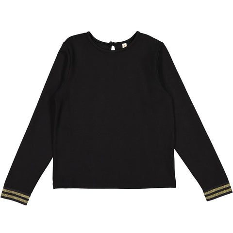 Ava & Lu Black Sweatshirt