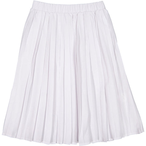 Ava and Lu White Pleated Skirt