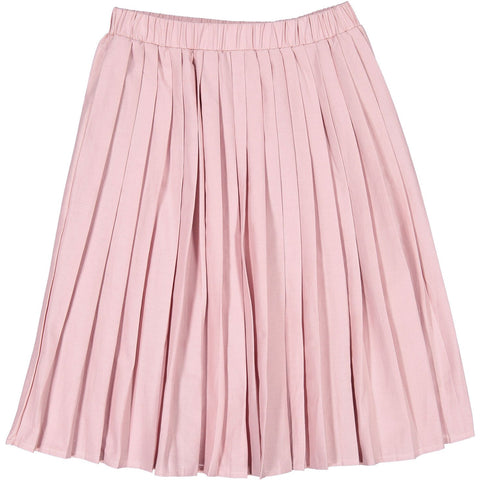 Ava and Lu Pink Pleated Skirt