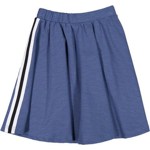 Ava and Lu Blue Stripe Circle Skirt