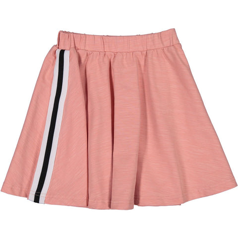 Ava and Lu Apricot Stripe Circle Skirt