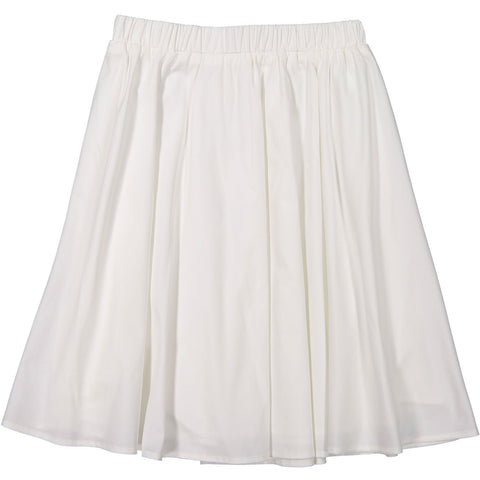 Ava and Lu White Circle Skirt