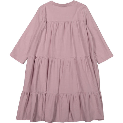 A4 Mauve Tiered Dress