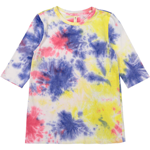 Ava and Lu Colorful Tie Dye Tee