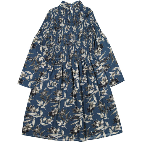Ava and Lu Floral Smocked Dress