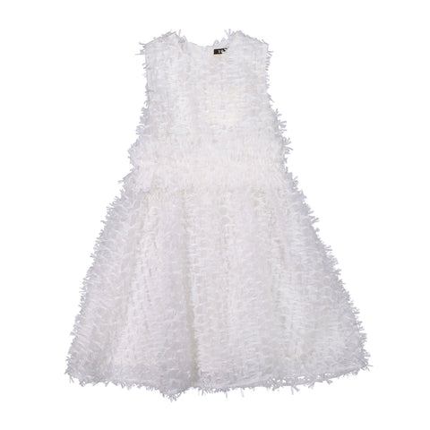 A4 White Couture Confetti Dress