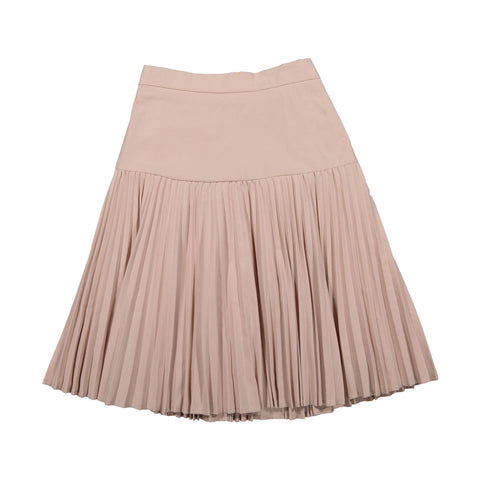Ava and Lu Blush Dropwaist Pleated Skirt