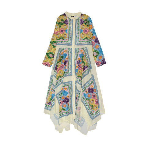 A4 Hankerchief Dress