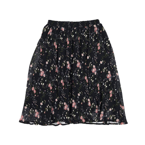 Ava and Lu Vintage Floral Flair Skirt