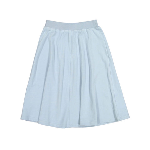 Ava and Lu Blue Felt Flair Skirt