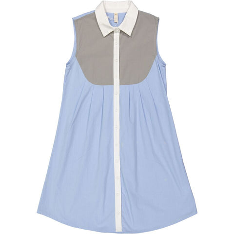 Ava & Lu The Driftwood Light Blue Shirtdress