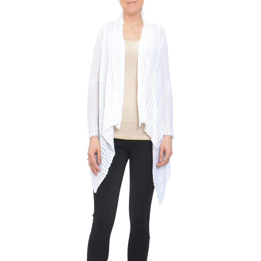 front drapes img products cardigan black sweater drape beau just