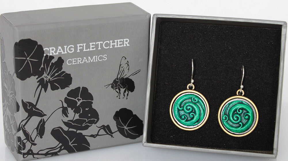 Curled Koru Earrings