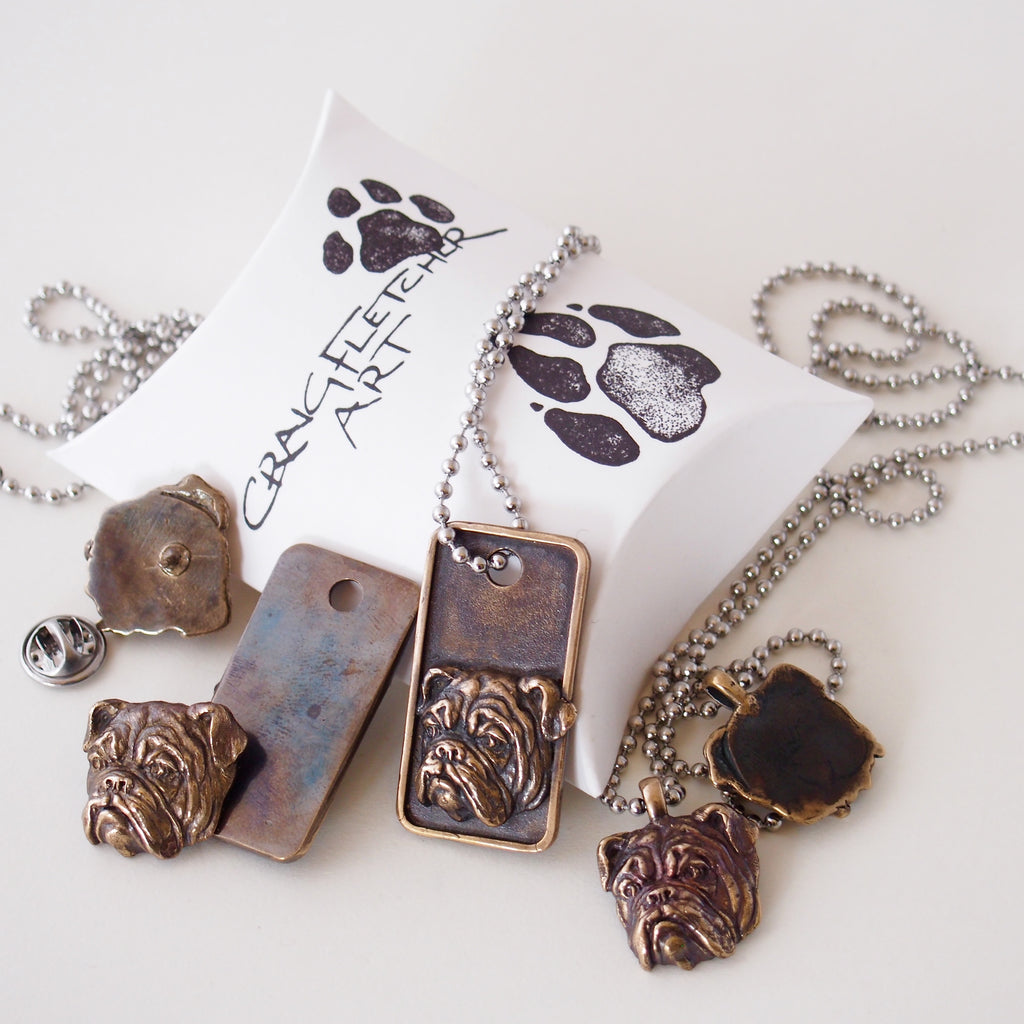 Bulldog jewellery