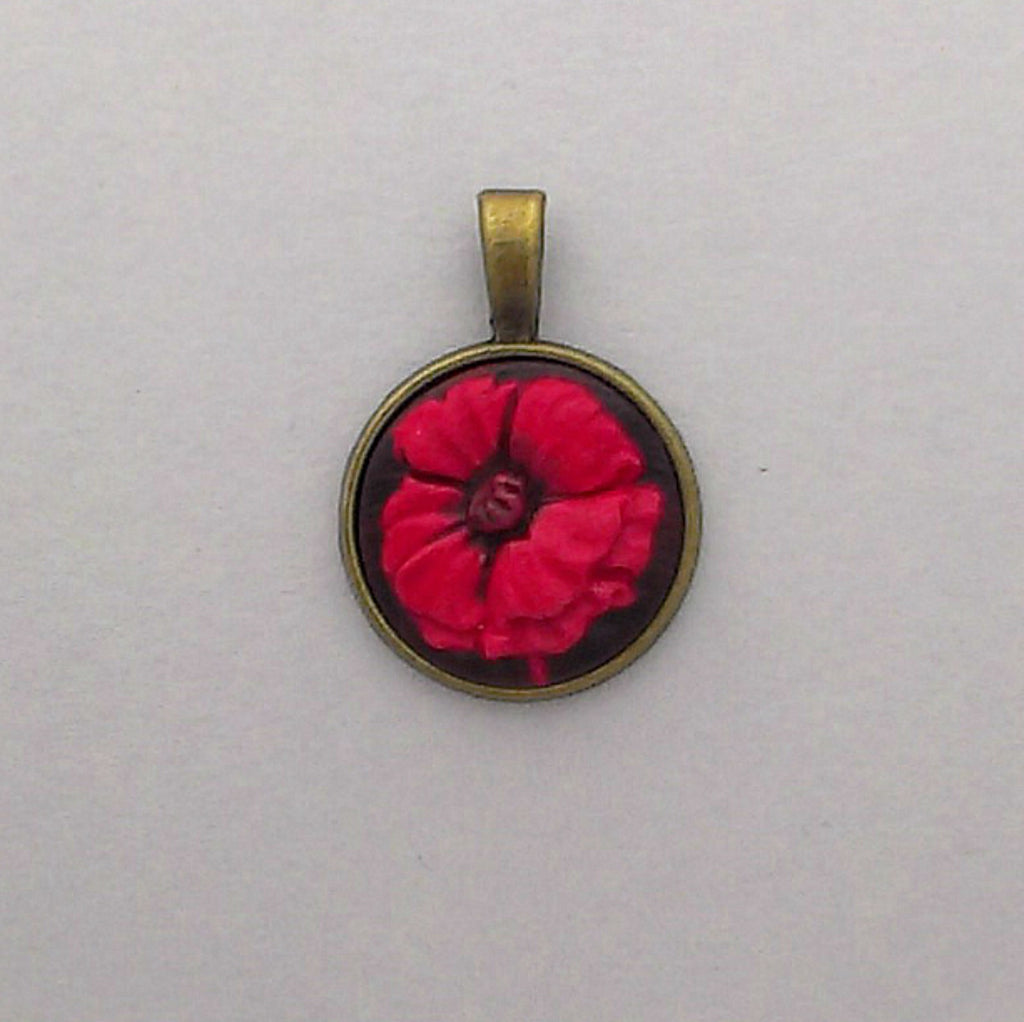 Poppy Fields Small Pendant