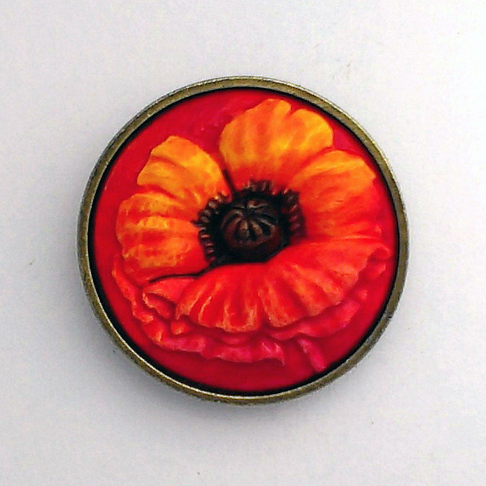 Poppy, Lest We Forget Brooch/Pin