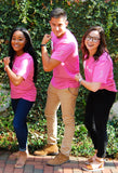 Pink Shirt for a Cure