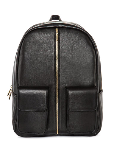 Leather Absence Backpack