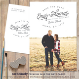 Austin - Save The Date Card