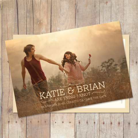 Autumn - Save The Date Card