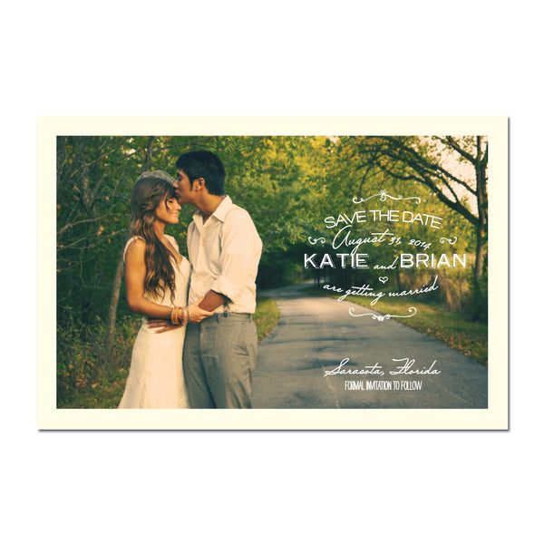 Early Morning Save The Date Magnet
