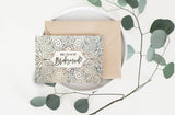 Gold Foil Will You Be My Bridesmaid Card - GBM-07