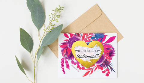 Scratch Off Will You Be My Bridesmaid Card GBM20