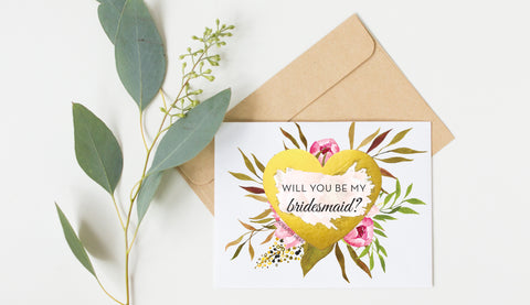 Scratch Off Will You Be My Bridesmaid Card GBM21