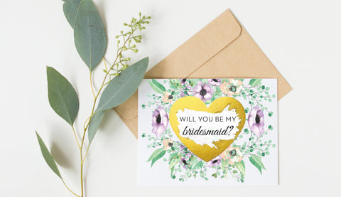 Scratch Off Will You Be My Bridesmaid Card GBM22