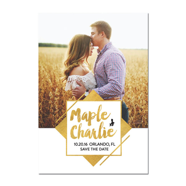 Goldie Save The Date Magnet