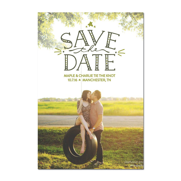 Handiwork Save The Date Magnet