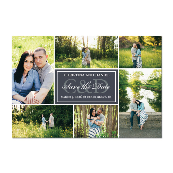Multiple Photo Save The Date Magnet