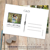 Multiple Photo - Save The Date Card