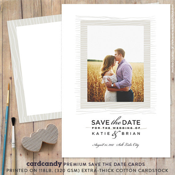 Topography - Save The Date Card