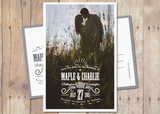 Starred - Save The Date Card