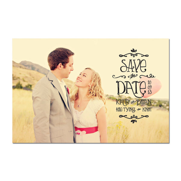 Sunnyside Save The Date Magnet