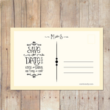 Sunnyside - Save The Date Card