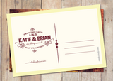 Sunset - Save The Date Card
