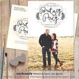 Swirlybird - Save The Date Card